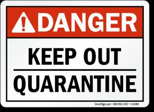 مقررات قرنطینه برای مبارزه با بیماری گیاهی